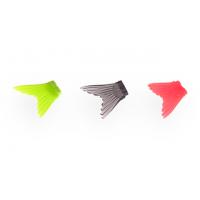 Хвост для воблера Glider 90 (желтый, черный, красный) 3шт.