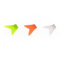 Хвост для воблера Glider 105 (желтый, оранжевый, белый светящийся) 3шт.