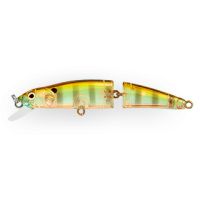 Воблер Strike Pro Minnow Jointed SM70 A68G