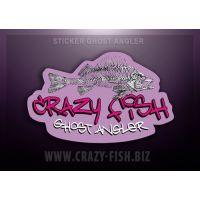 Оригинальная наклейка Transparent Sticker Ghost Angler