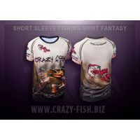 футболка CRAZY FISH Fantasy - XL
