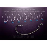 Офсетный крючок BIG GAME OFFSET HOOK  BGOH 1/0 8