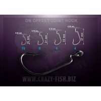 Офсетный крючок DN Offset Joint Hook DN OJH-6 20