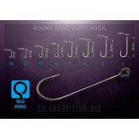 RBJH-4 200шт Одинарный крючок Round Bent Joint Hook